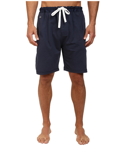 Lacoste - Ace Sleep Shorts (Navy) Men's Pajama
