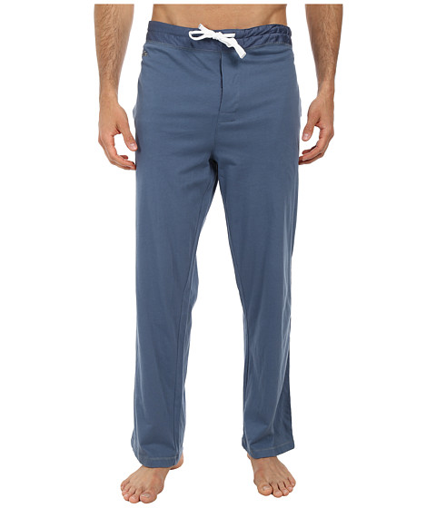 Lacoste - Ace Lounge Pants (China Blue) Men's Pajama