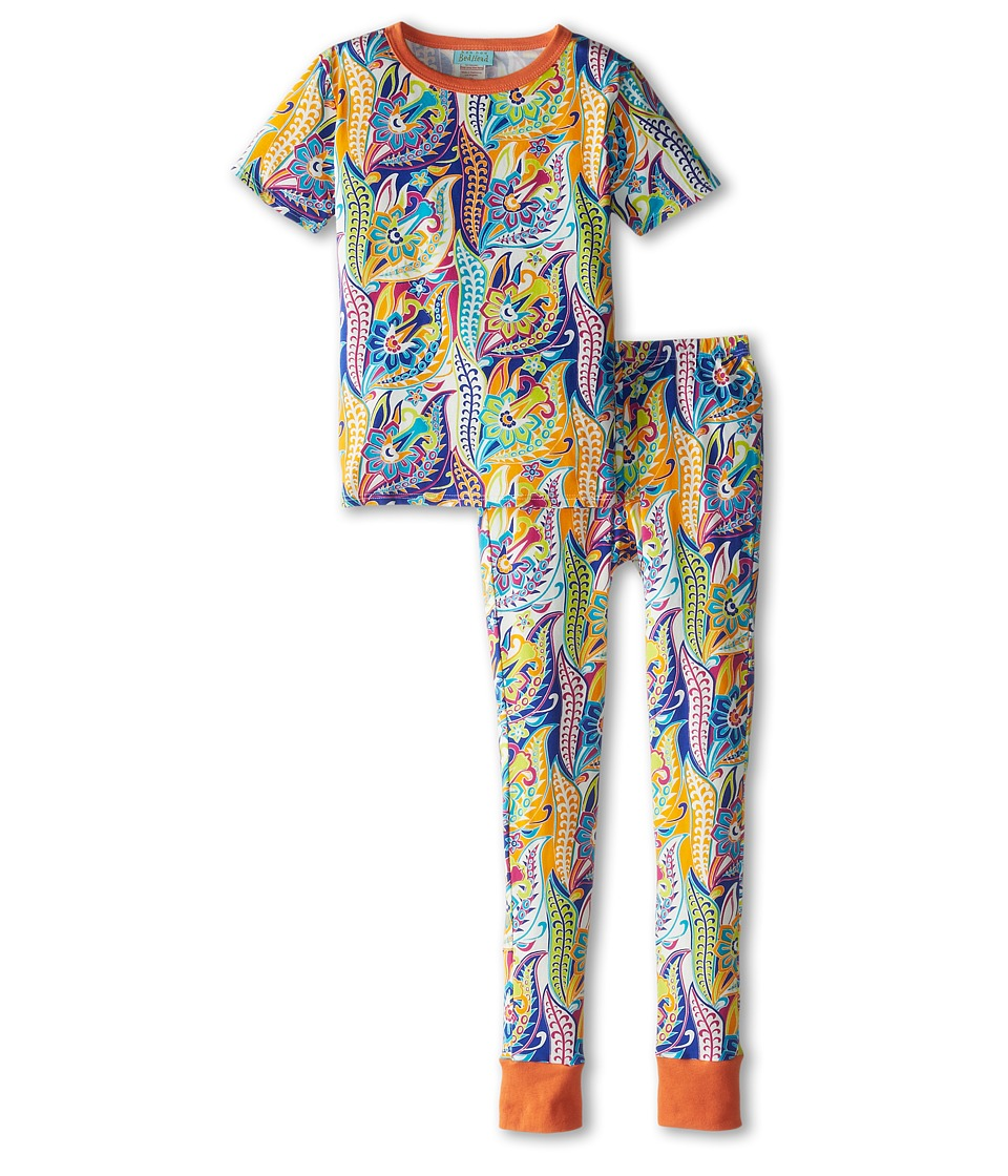 BedHead Kids - Short Sleeve Tween Snug PJ (Big Kids) (Blue Sergeant Pepper) Girl
