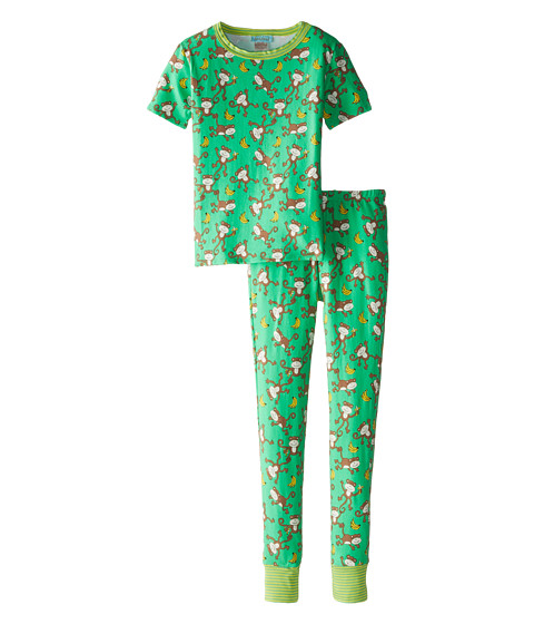 BedHead Kids - Short Sleeve Tween Snug PJ (Big Kids) (Gone Bananas) Kid's Pajama Sets