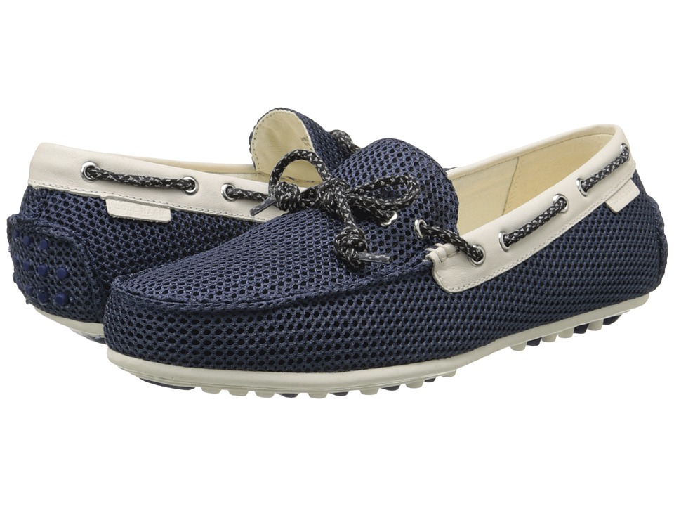 Cole Haan - Grant Escape (Blazer Blue Mesh) Men's Slip on Shoes