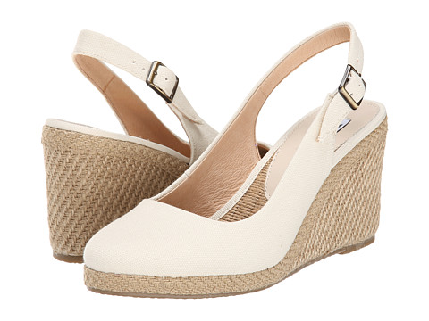 Dune London - Karley E (Cream) Women's Wedge Shoes