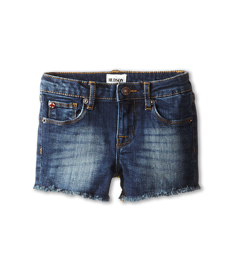 Hudson Kids - Ava Shorts in Freezer Blue (Little Kids) (Freezer Blue) Girl