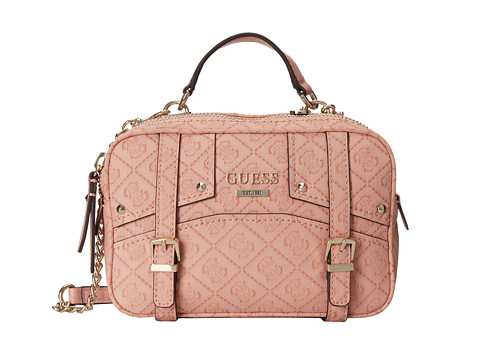 GUESS - Rikki Crossbody Camera Bag (Coral) Handbags