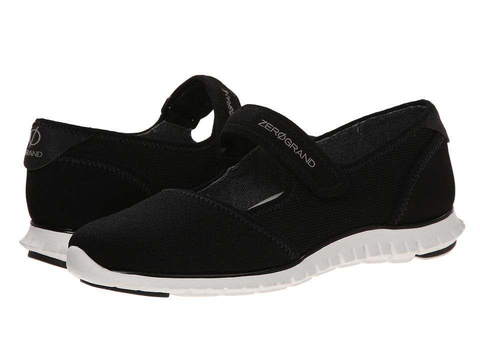 Cole Haan - Zerogrand Maryjane (Black Neoprene/Mesh) Women's Maryjane Shoes