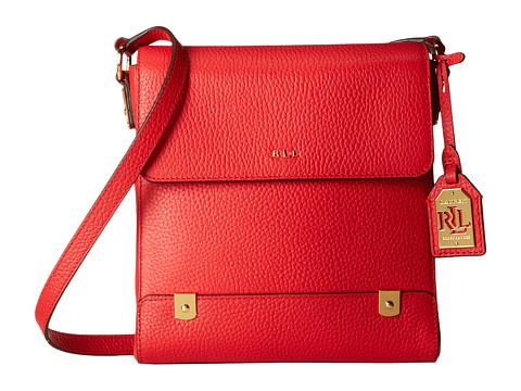 LAUREN by Ralph Lauren - Morrison Crossbody (Poppy) Cross Body Handbags