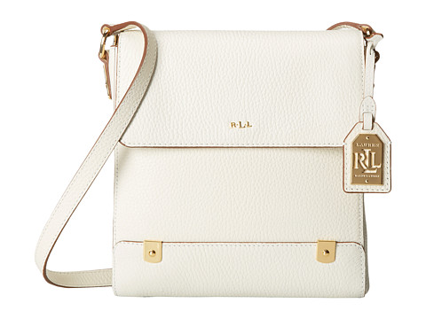 LAUREN by Ralph Lauren - Morrison Crossbody (Vanilla) Cross Body Handbags