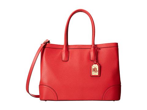 LAUREN by Ralph Lauren - Fairfield City Tote (Poppy) Tote Handbags