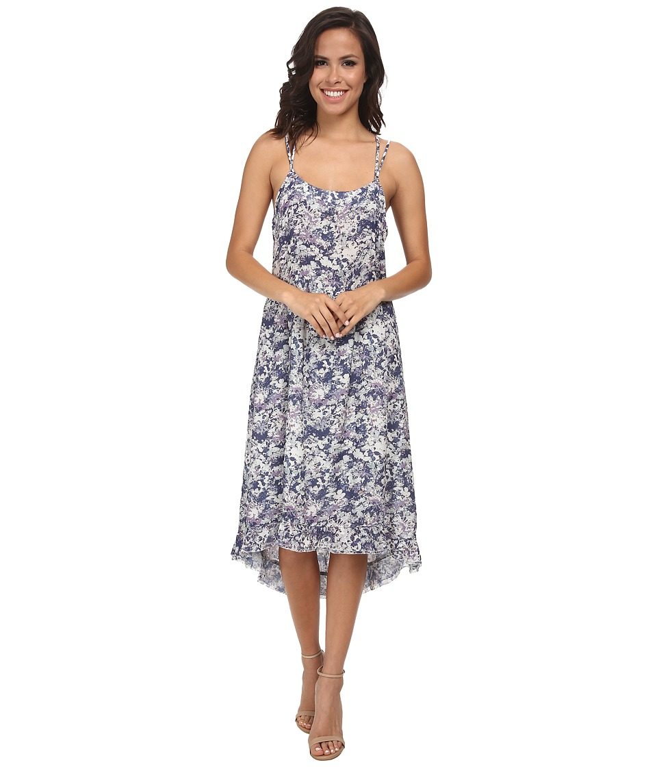 LAmade - Emma Printed Dress (Indigo) Women's Dress
