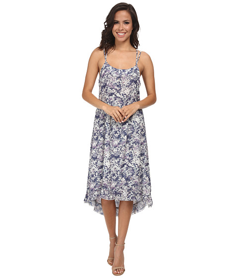 LAmade - Emma Printed Dress (Indigo) Women