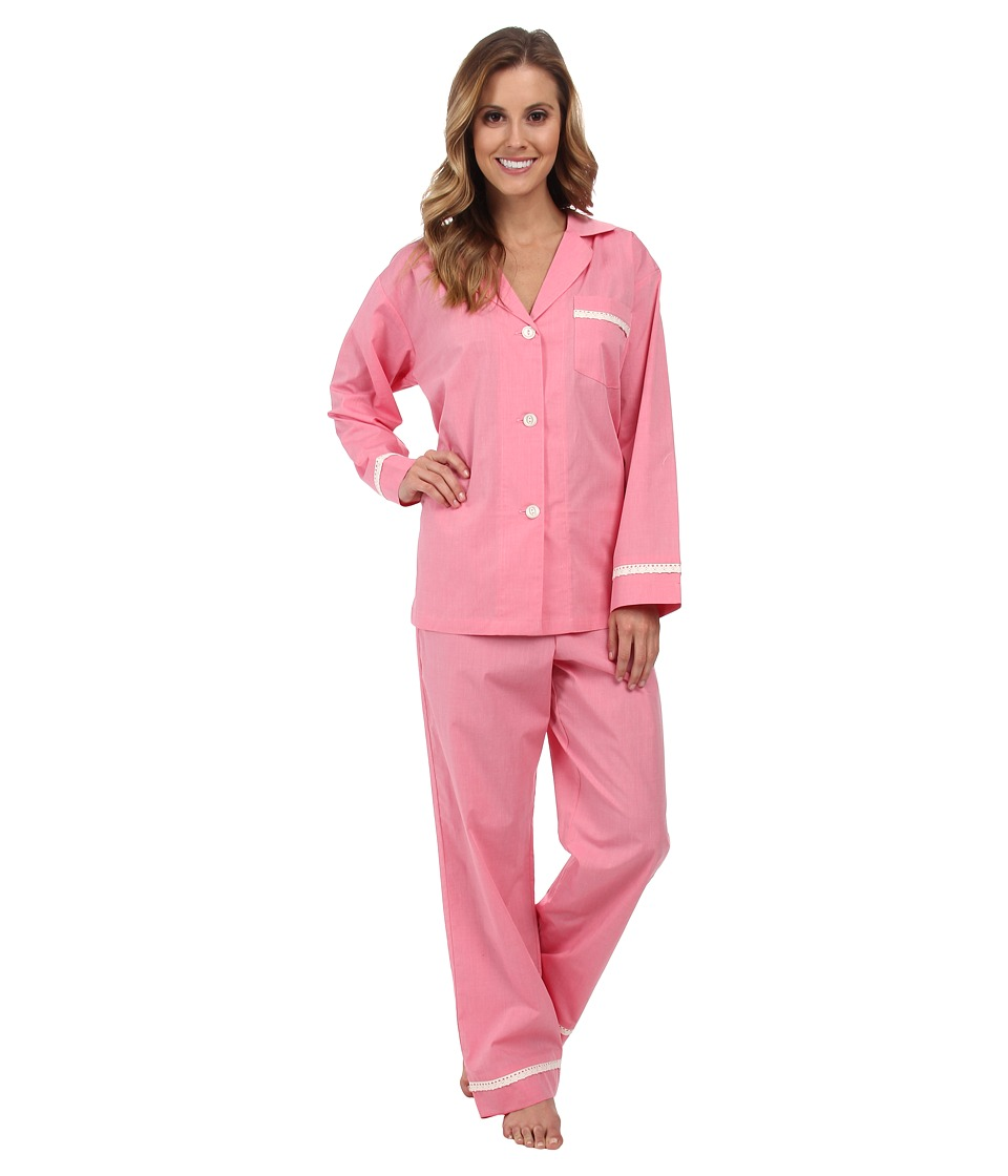 BedHead - Classic Sateen PJ (Dusty Pink) Women's Pajama Sets