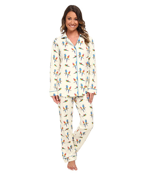 BedHead - Classic Stretch PJ Set (Parrot Jungle) Women's Pajama Sets