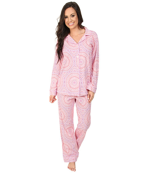 BedHead - Classic Stretch PJ Set (Kaleidescope Hearts) Women's Pajama Sets