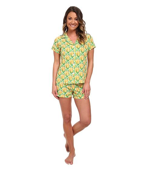 BedHead - Shorty PJ Stretch (Pineapples) Women