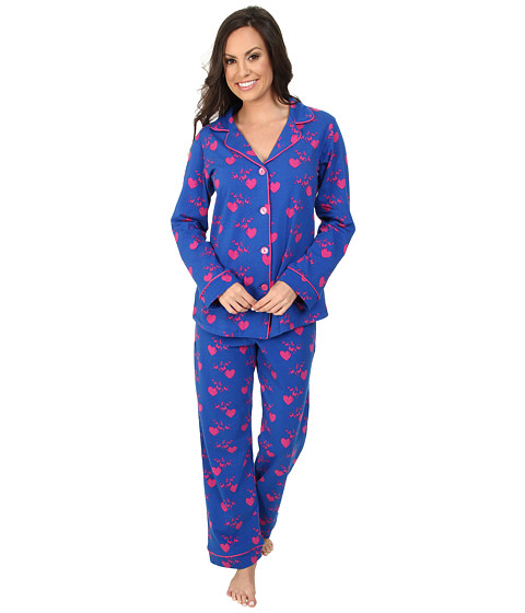BedHead - Classic Stretch PJ Set (Hearts/Butterflies) Women's Pajama Sets