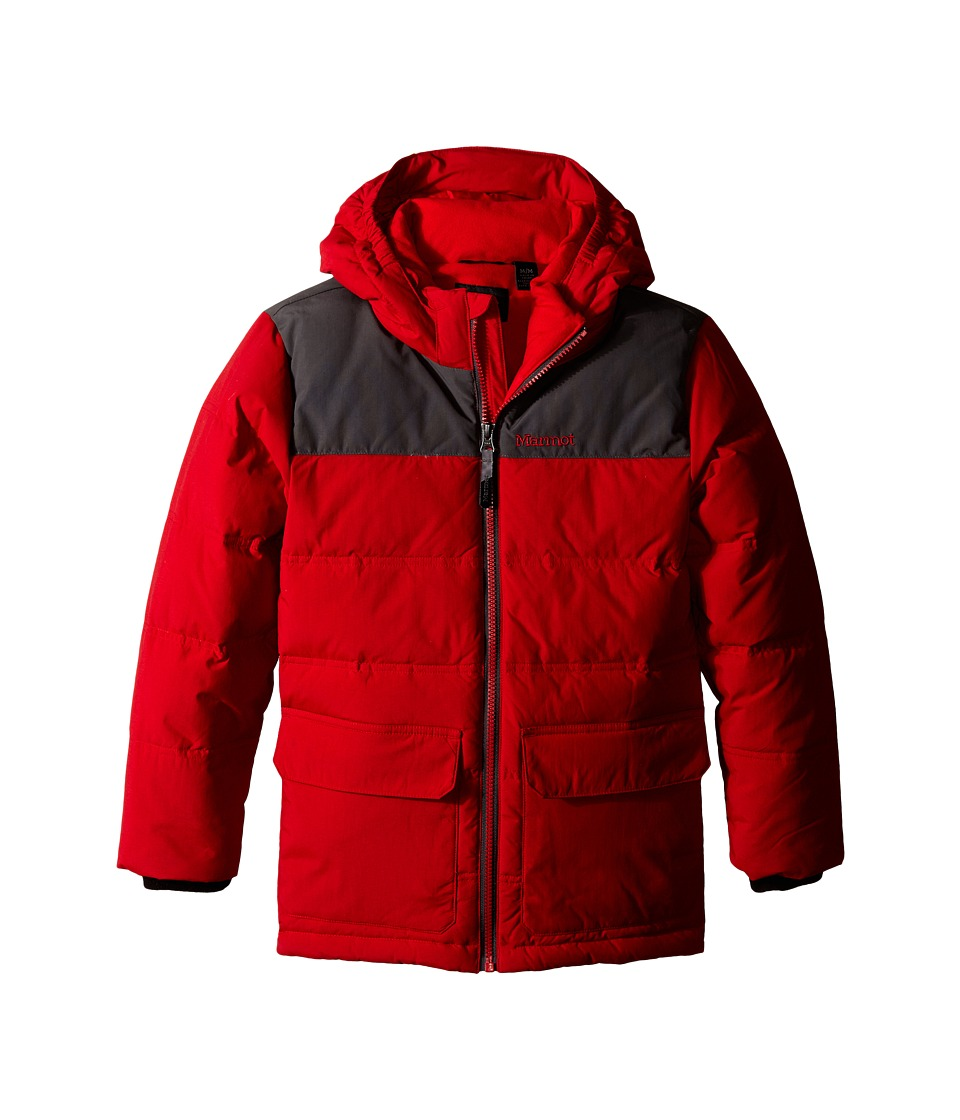Marmot Kids - Rail Jacket (Little Kids/Big Kids) (Team Red/Slate Grey) Boy's Coat