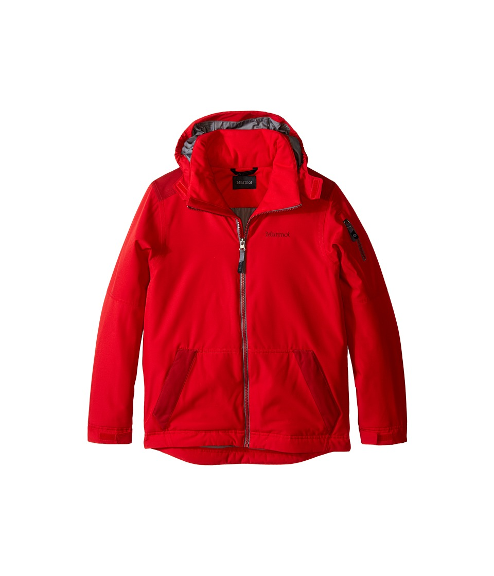 Marmot Kids - Outer Limits Jacket (Little Kids/Big Kids) (Team Red/Dark Crimson) Boy's Coat