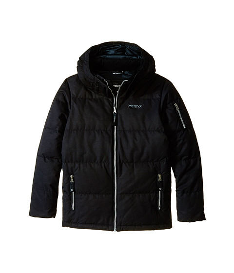 Marmot Kids - Vancouver Jacket (Little Kids/Big Kids) (Black) Boy