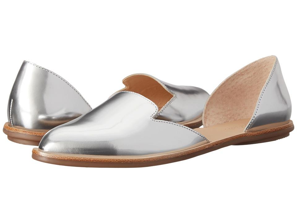 Loeffler Randall - Prue (Silver) Women's Flat Shoes