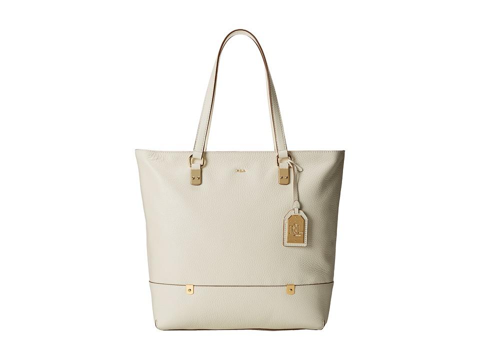 LAUREN Ralph Lauren - Morrison N/S Tote (Vanilla) Tote Handbags
