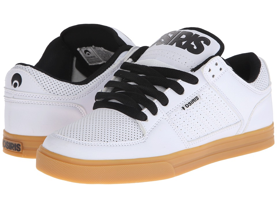 Osiris - Protocol (White/Gum) Men's Skate Shoes
