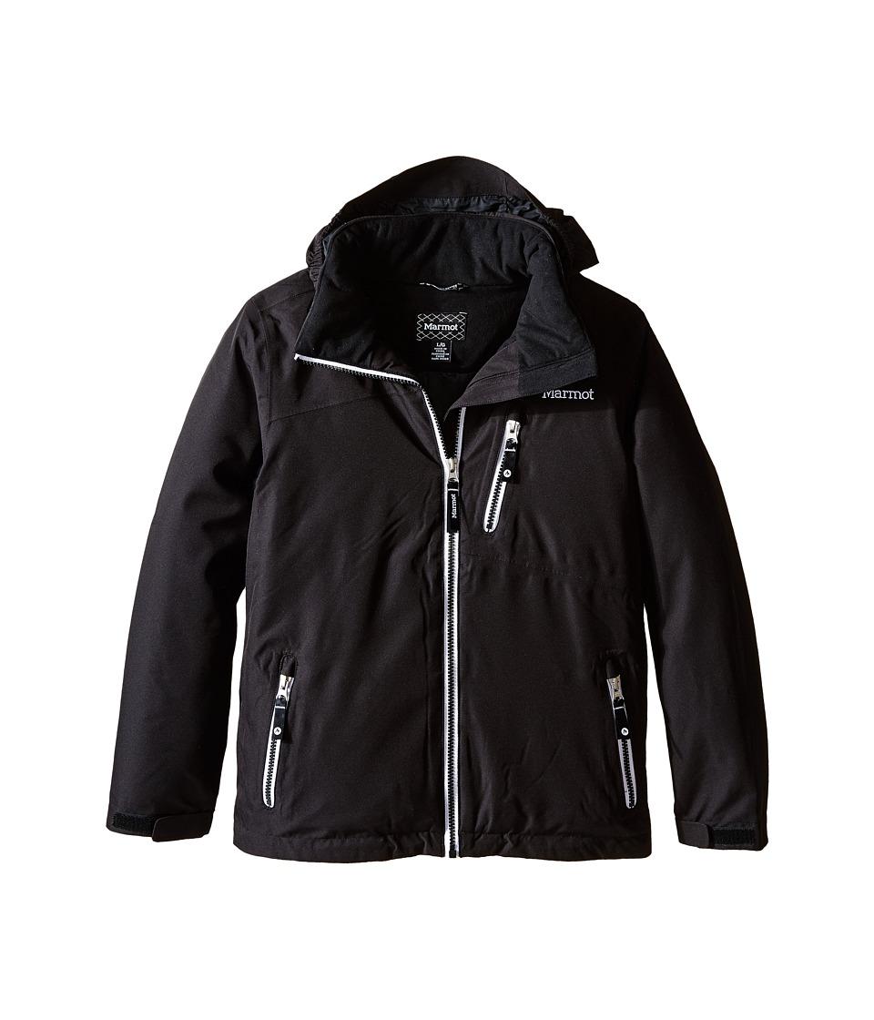 Marmot Kids - Free Skier Jacket (Little Kids/Big Kids) (Black) Girl's Coat