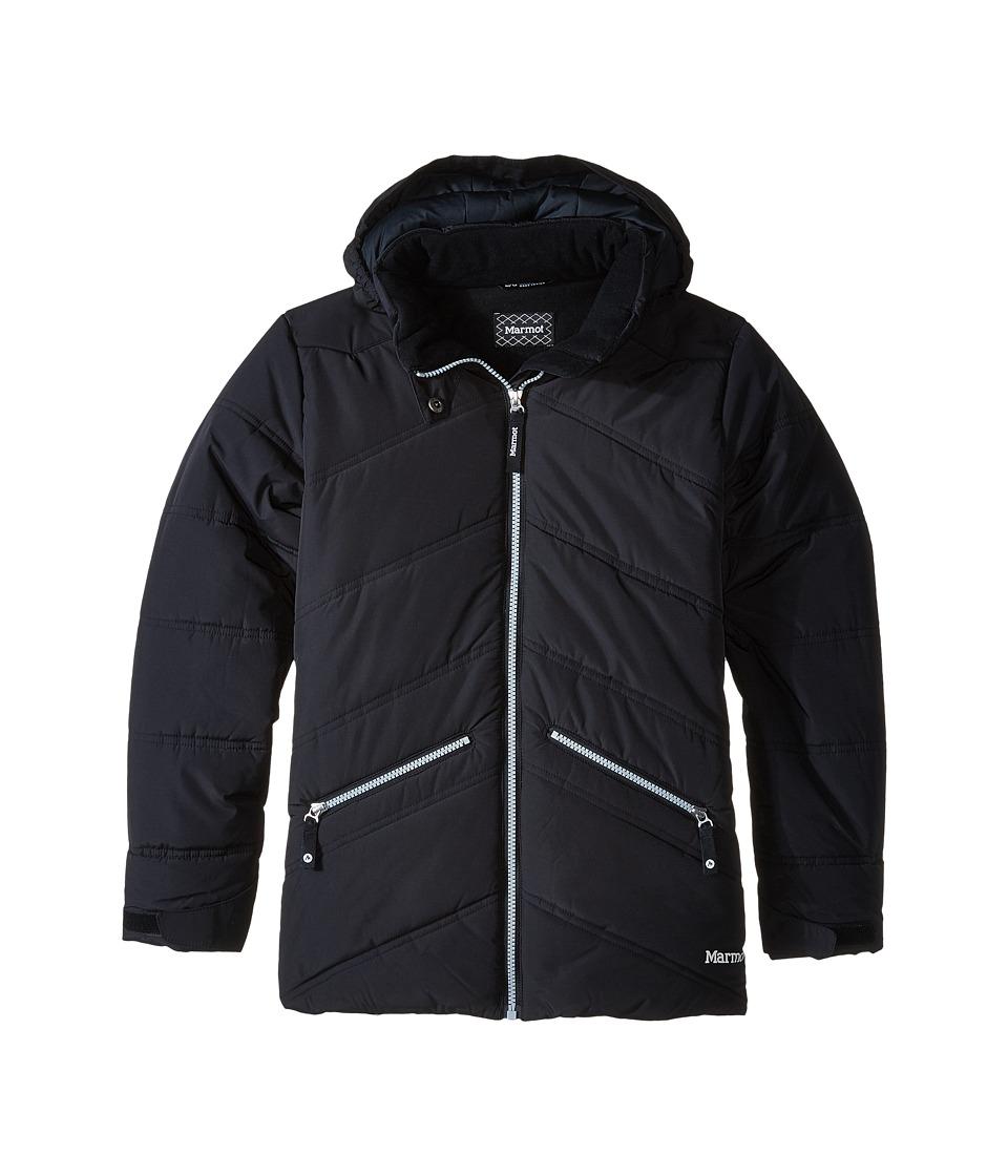 Marmot Kids - Val D'Sere Jacket (Little Kids/Big Kids) (Black) Girl's Coat