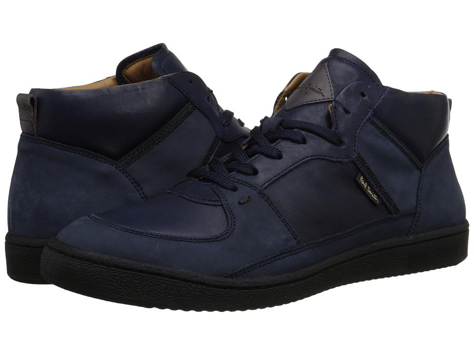 Paul Smith - Dune Hightop (Midnight Navy) Men's Shoes