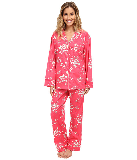 BedHead - Classic Pajamas Voile (Rouge Flower Bouquet) Women's Pajama Sets