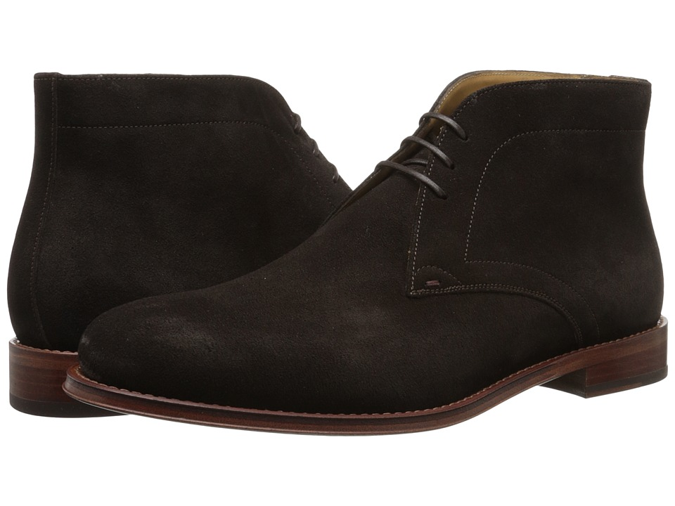 Paul Smith - Morgan Suede Boot (Dark Brown) Men's Boots