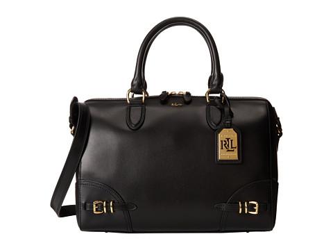 LAUREN by Ralph Lauren - Lauren Satchel (Black) Satchel Handbags