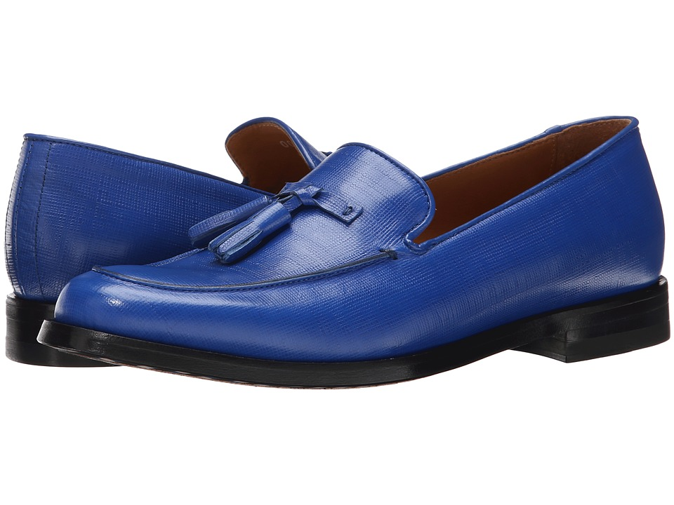 Paul Smith - Stevenson Loafer (Kleinblue (Cobalt)) Women's Slip on Shoes