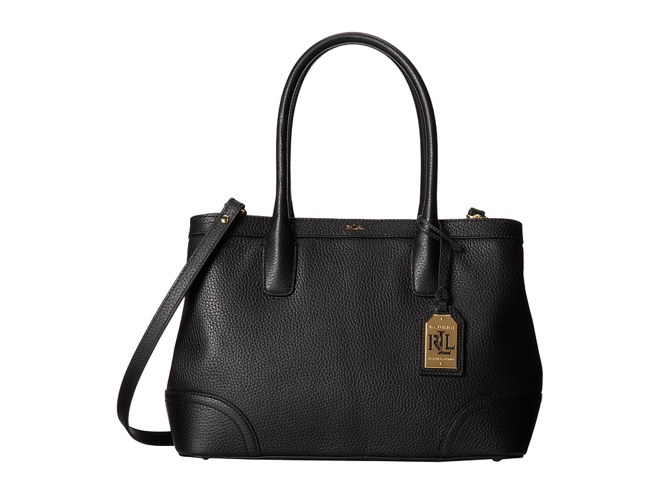 LAUREN by Ralph Lauren - Fairfield City Shopper (Black) Tote Handbags
