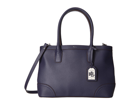LAUREN by Ralph Lauren - Fairfield City Shopper (Marine) Tote Handbags