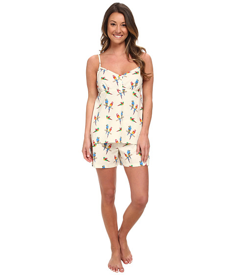 BedHead - Cami Shorts Set (Parrot Jungle) Women's Pajama Sets