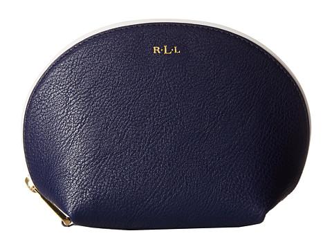 LAUREN by Ralph Lauren - Dorset Shell Cosmetic Case (Marine/Vanilla) Cosmetic Case