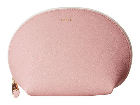 LAUREN by Ralph Lauren - Dorset Shell Cosmetic Case (Tea Rose/Vanilla) Cosmetic Case