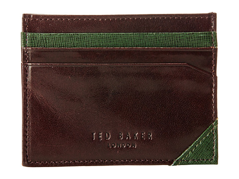 Ted Baker - Belsfed (Chocolate) Credit card Wallet