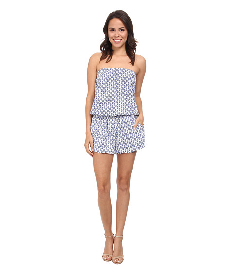 Soft Joie - Gidget (Porcelain/Peacoat) Women's Jumpsuit & Rompers One Piece