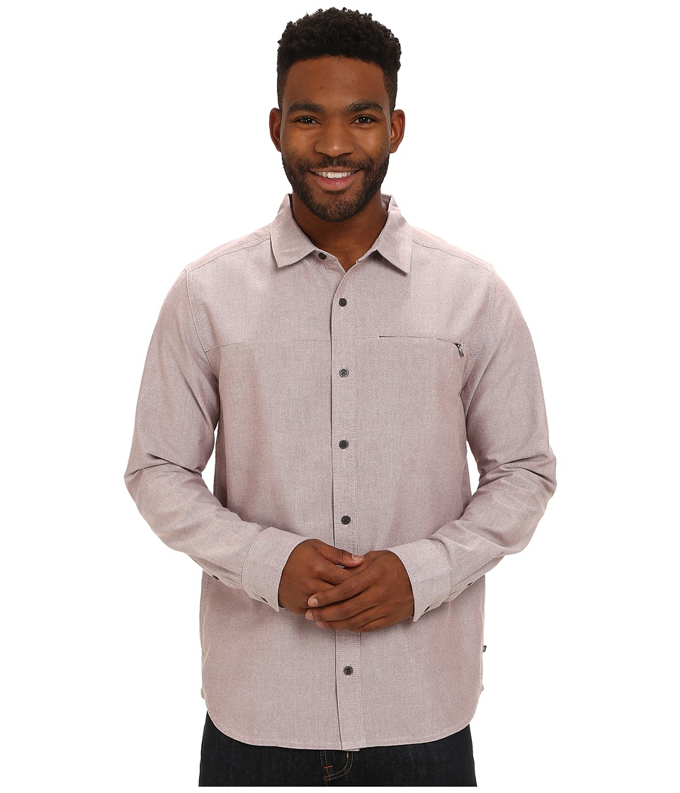 Toad&Co - Fullbright Long Sleeve Shirt (Brown Madder) Men's Long Sleeve Button Up