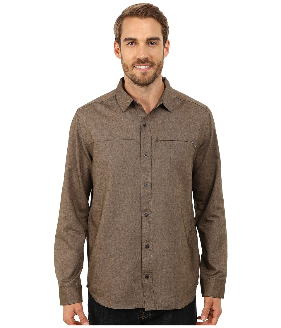 Toad&Co - Fullbright Long Sleeve Shirt (Rosin) Men's Long Sleeve Button Up