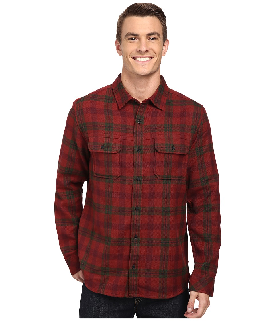 Toad&Co - Watchdog Long Sleeve Shirt (Brown Madder) Men's Long Sleeve Button Up