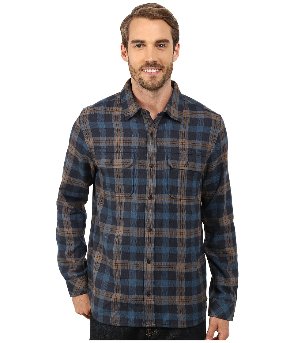 Toad&Co - Watchdog Long Sleeve Shirt (Night Sky) Men's Long Sleeve Button Up