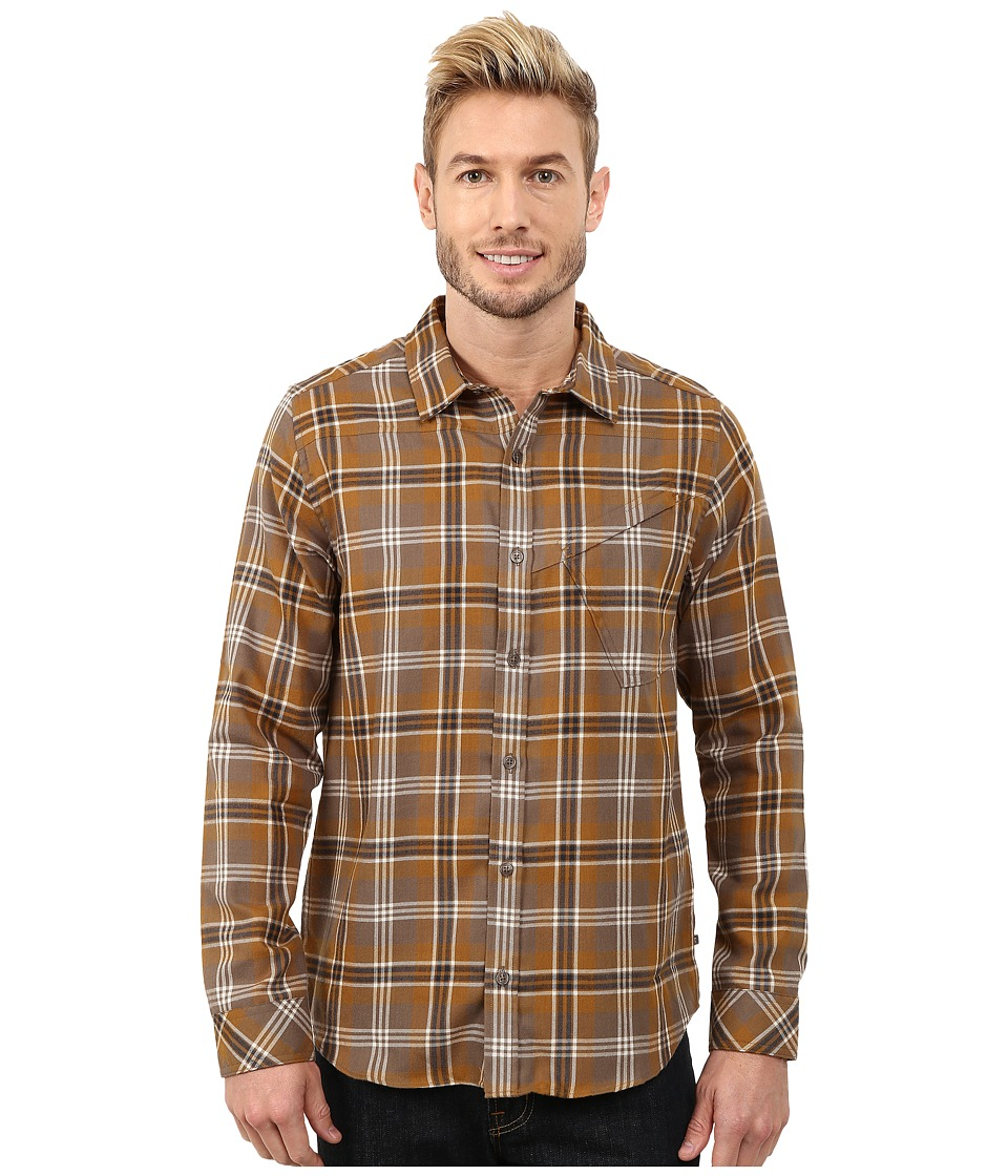 Toad&Co - Dogma Long Sleeve Shirt (Falcon Brown) Men's Long Sleeve Button Up