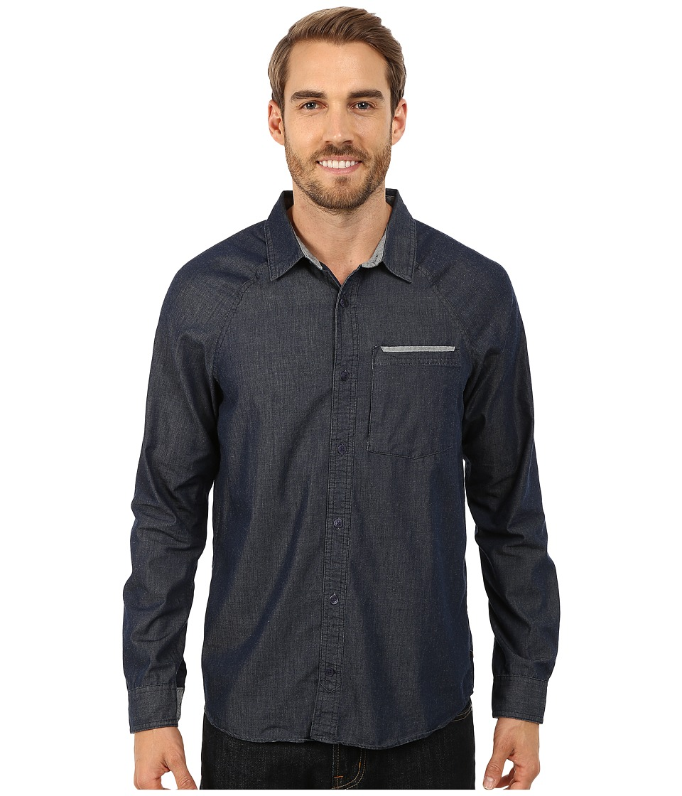Toad&Co - Yonder Long Sleeve Shirt (Night Sky) Men's Long Sleeve Button Up