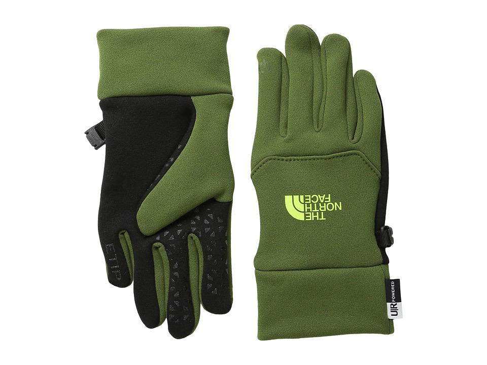 The North Face Kids - Youth Etip Glove (Big Kids) (Scallion Green) Extreme Cold Weather Gloves