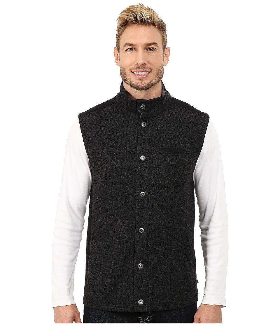 Toad&Co - Sidecar Vest (Black) Men's Vest