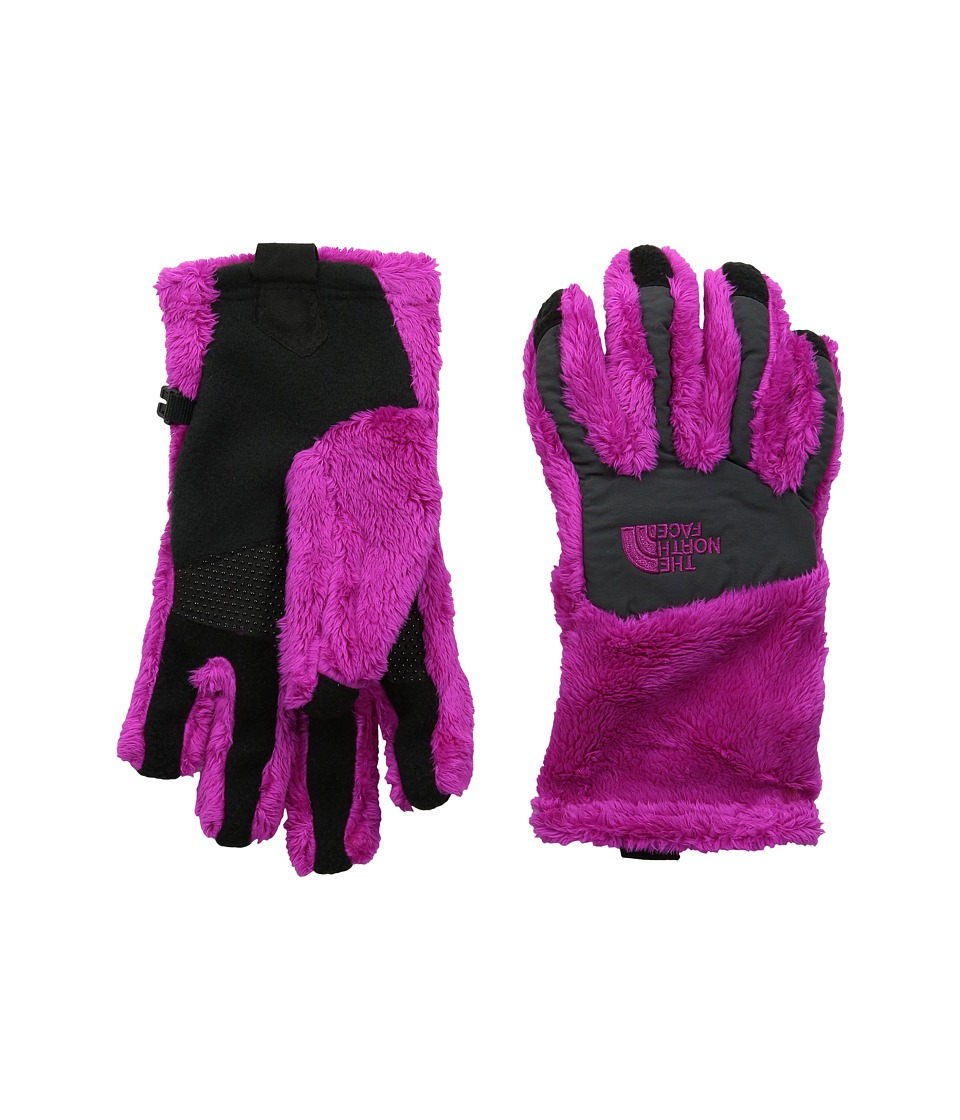 The North Face Kids - Denali Thermal Etip Glove (Big Kids) (Luminous Pink/Graphite Grey) Ski Gloves