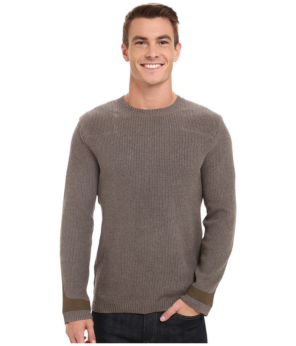 Toad&Co - Emmett Crewneck Sweater (Jeep) Men's Sweater