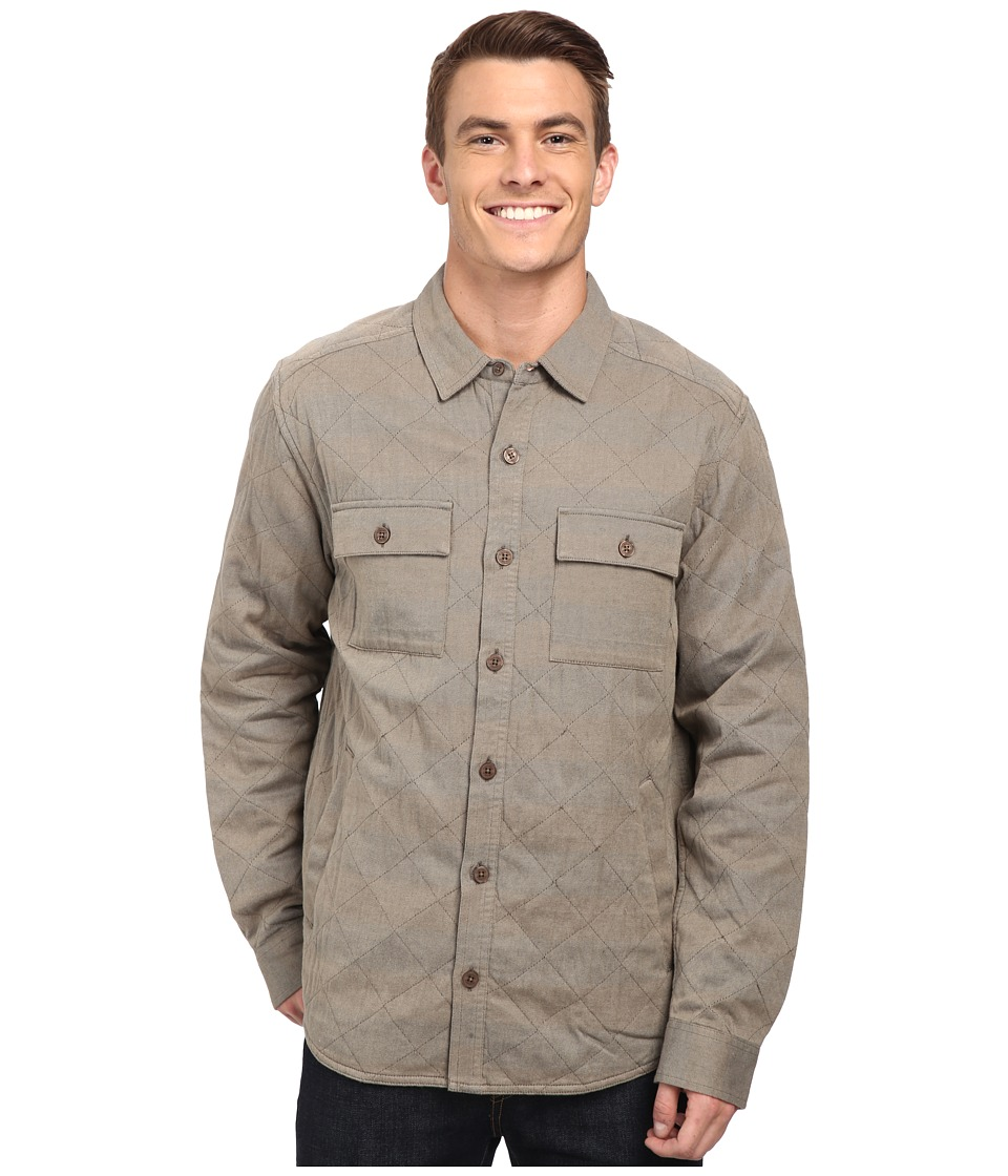 Toad&Co Klamath Quilted Shirt Jacket (Buckskin) Men